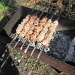 Быстрый  способ маринования шашлыка из свинины