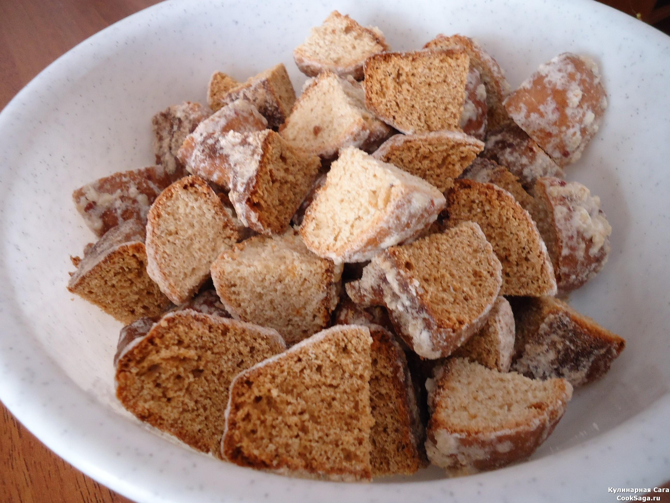 торты без выпечки рецепты из пряников